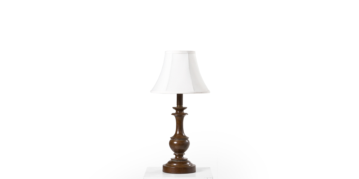 "17""h Bronze Resin Table Lamp LGT009962"
