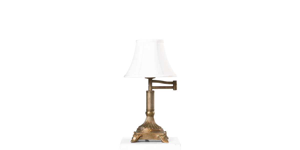 "16""h Gold Table Lamp LGT010891"