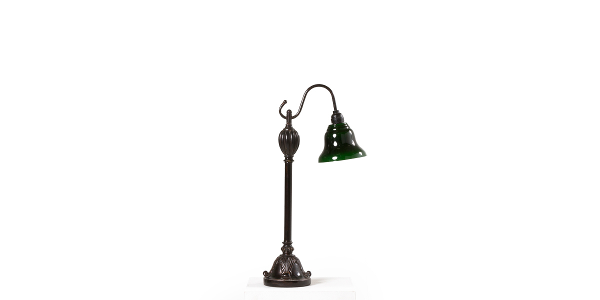 "23""h Dark Bronze Table Lamp LGT011318"