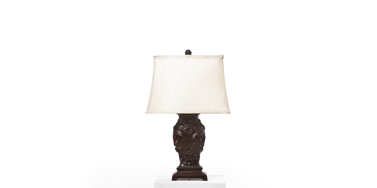 "23""h Dark Bronze Table Lamp LGT012394"