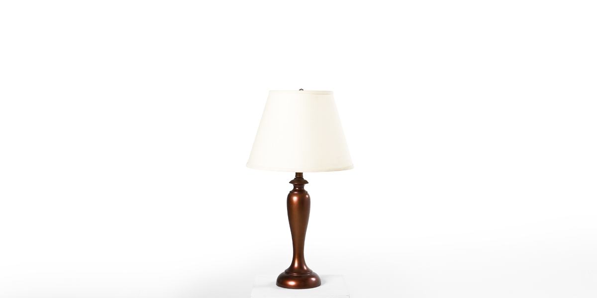 "27""h Copper Table Lamp LGT012533"