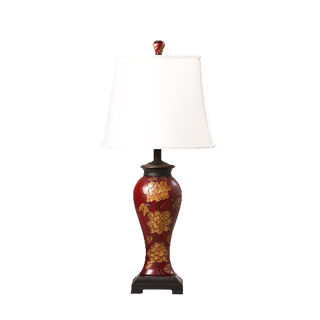 "30.5""h Scarlet Table Lamp LGT013426"