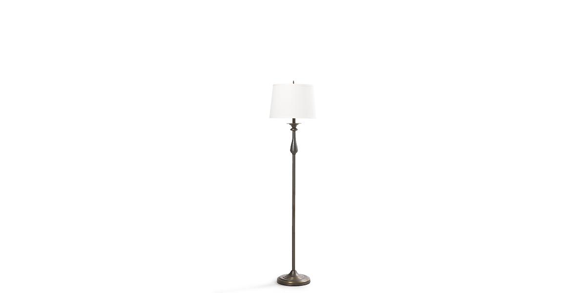 """60""""h Dark Bronze Floor Lamp LGT013429"""