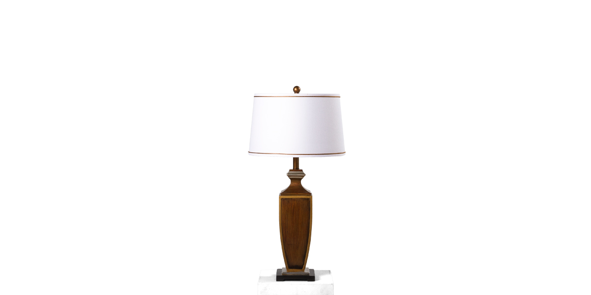 """32""""h Wooden Table Lamp LGT013431"""