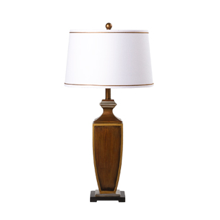 "32""h Wooden Table Lamp LGT013431"