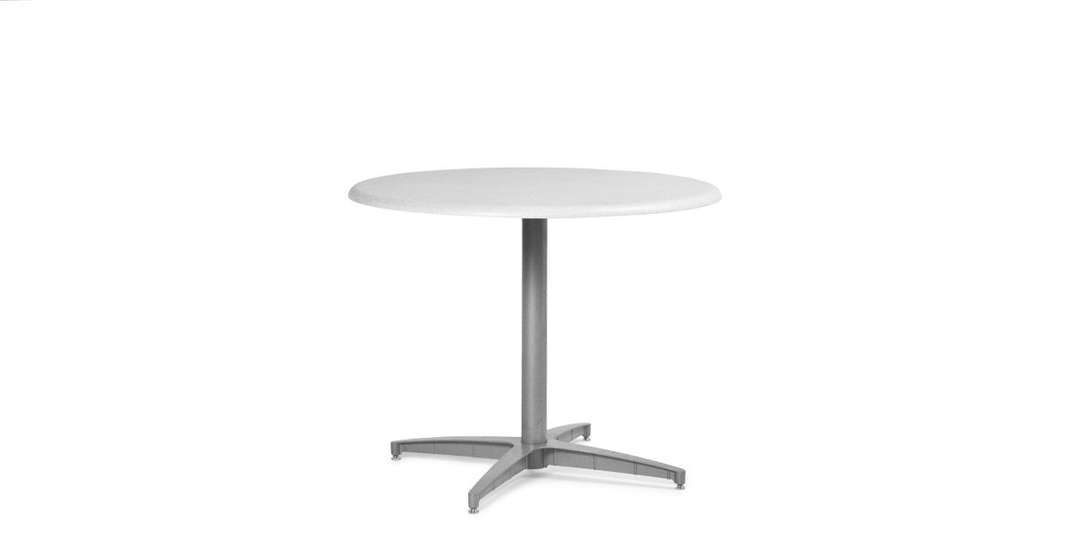 """36""""dia Medium Grey Multi-Purpose Round Table TBL013439"""