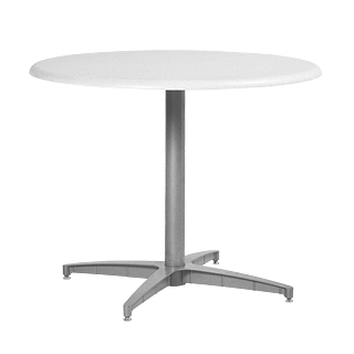 "36""dia Medium Grey Multi-Purpose Round Table TBL013439"