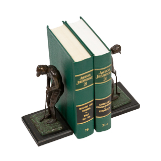 "8""h Bronze Bookends ACC000870"