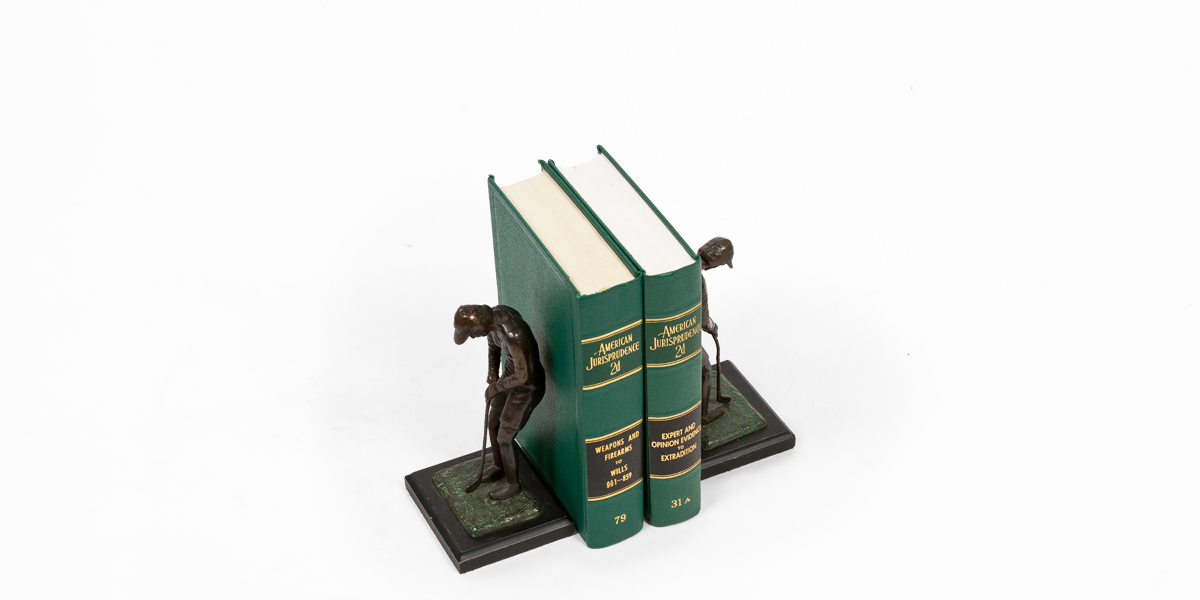 """8""""h Bronze Bookends ACC000870"""