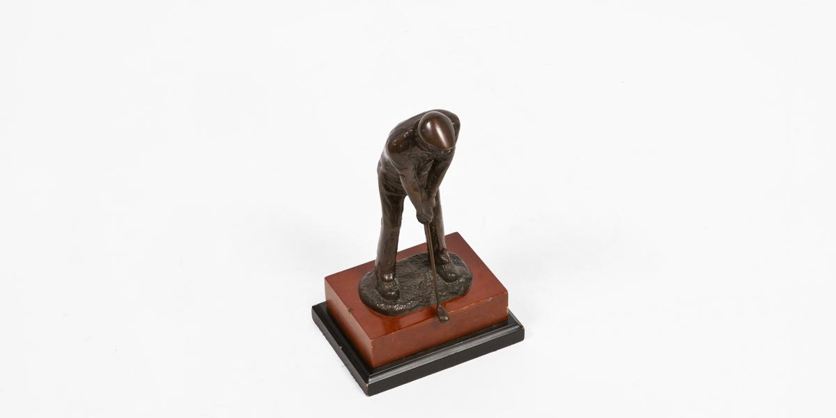 """9""""h Bronze Statue ACC004179"""