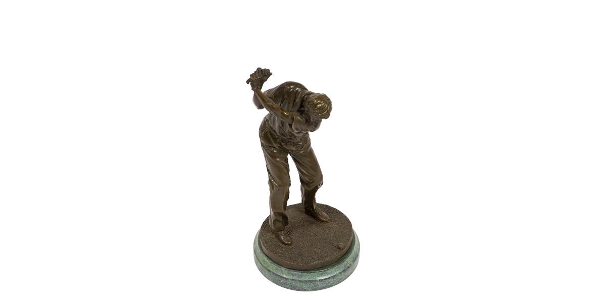 """12""""h Bronze Statue ACC010010"""