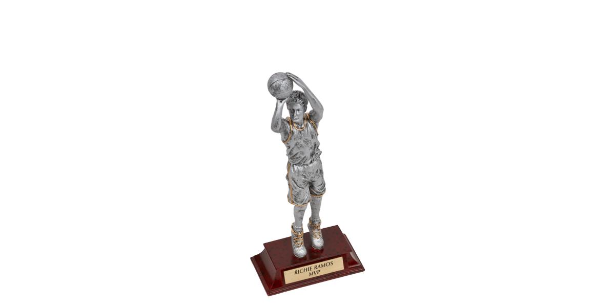 """11""""h Grey Trophy ACC012223"""