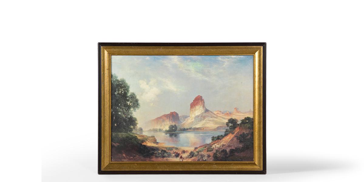 "37""w x 29""h Landscape Art ART001932"