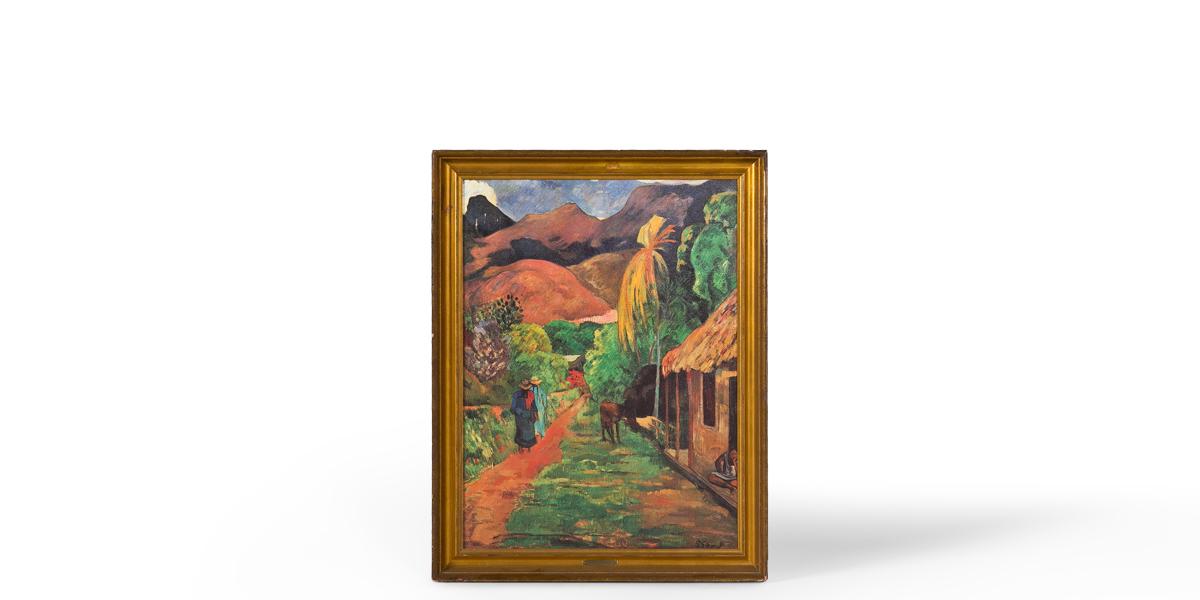 "28.5""w x 36.5""h Landscape Art ART002621"