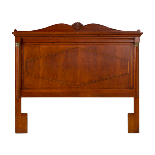 "65""w x 54""h Medium Cherry Queen Headboard BED000171"