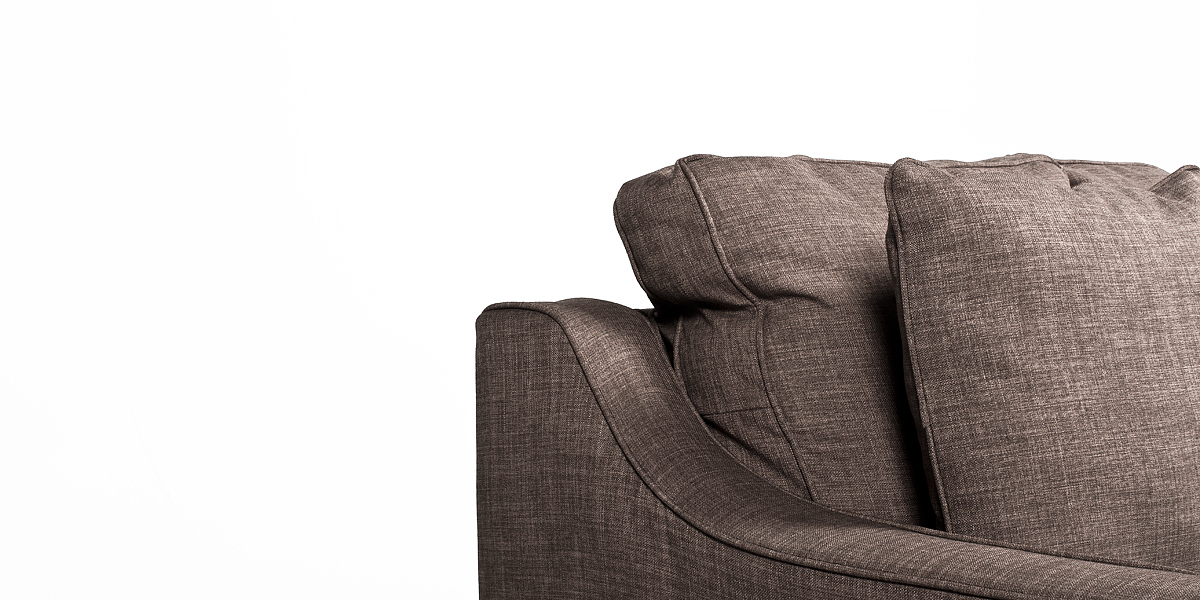 Stone Beige Pillow Back Club Chair CHR013277