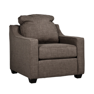 Stone Beige Pillow Back Club Chair CHR013277