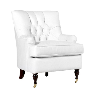 Berkshire White Club Chair CHR013467