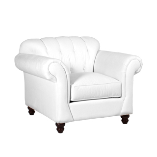 Berkshire White Club Chair CHR013470
