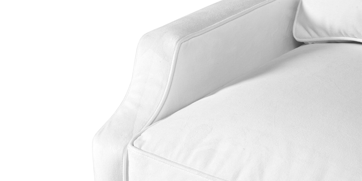 Berkshire White Club Chair CHR013475