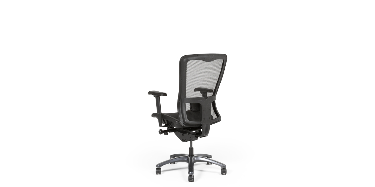Black Mesh Executive Hi-Back Office Chair CHR013503