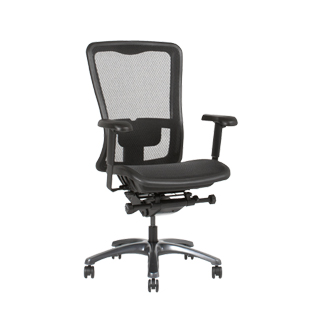 Black Mesh Executive Hi-Back Office Chair CHR013503