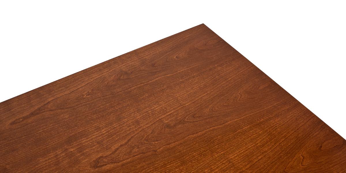 "60.25""w x 30.25""d Medium Cherry Executive Desk DSK013401"