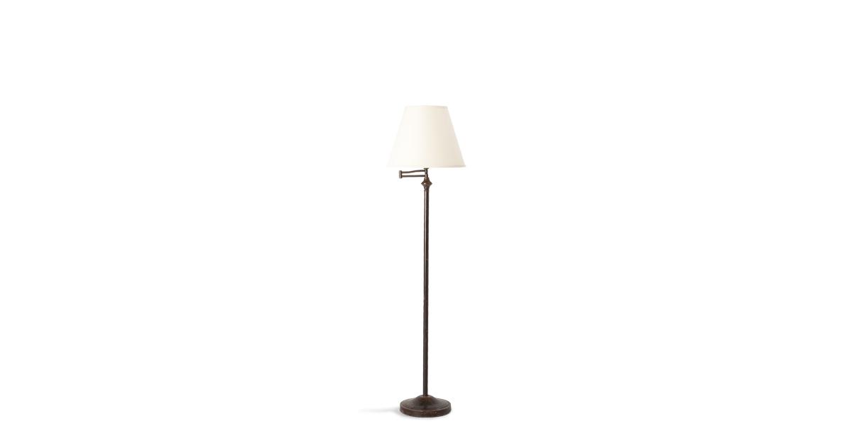 """59""""h Bronze Floor Lamp LGT006258"""