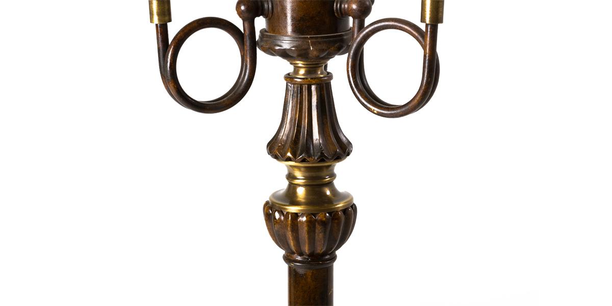 """63""""h Bronze Floor Lamp LGT007913"""