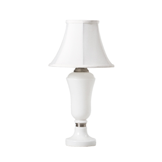 "14""h White Porcelain Table Lamp LGT011094"