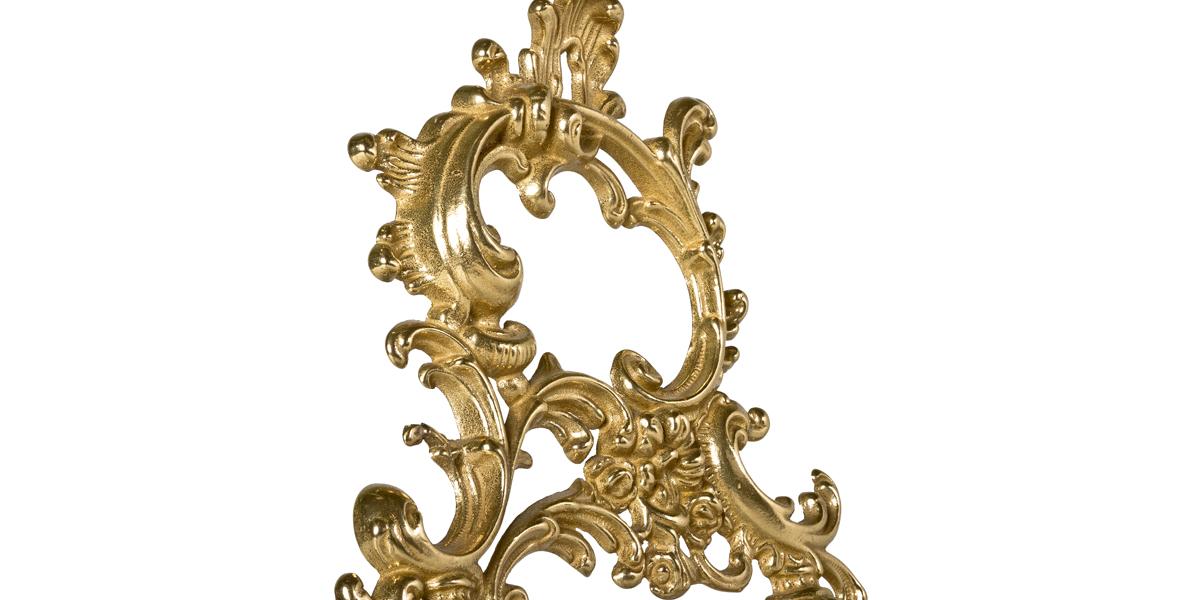 """48""""h Ornate Brass Easel MIS007012"""