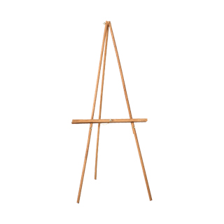 "52""h Light Cherry Easel MIS010756"