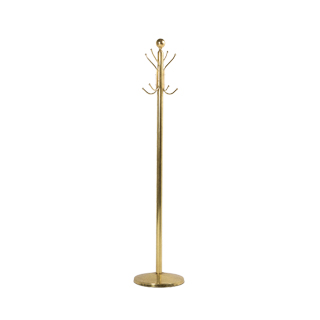 "77.5""h Brass Coat Tree MIS011133"
