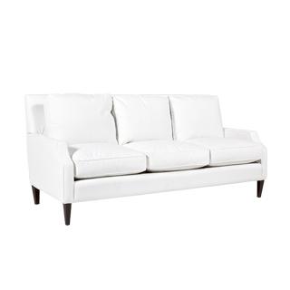 "85""w x 39""d Berkshire White Sofa SOF013473"