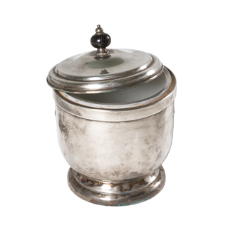 "10""h Silver Ice Bucket ACC000553"