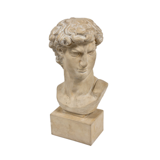 "24""h Plaster Bust ACC000598"