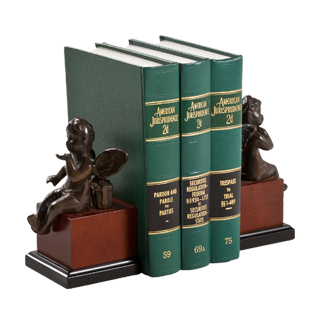 "7""h Brass Bookends ACC000683"