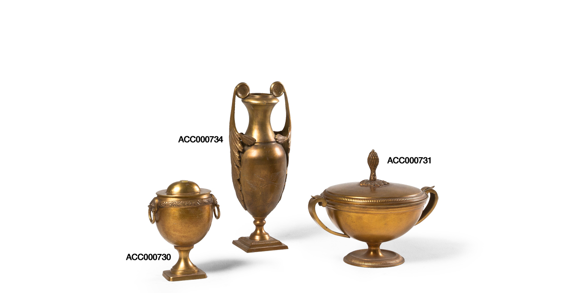 Brass Decorative Container Set