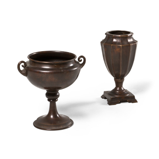 Copper Decorative Container Set