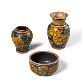 Floral Decorative Container Set