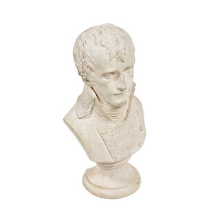 "11""h Plaster Bust ACC001211"