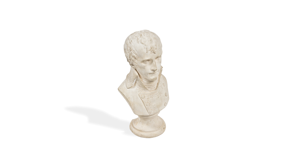 """11""""h Plaster Bust ACC001211"""