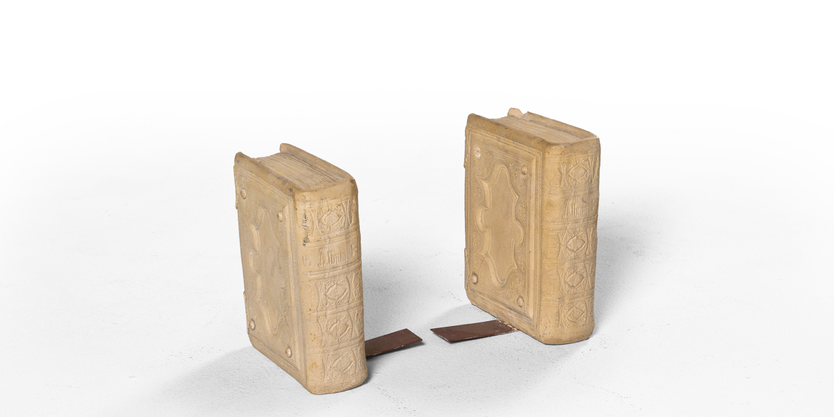 "6.5""h Ceramic Bookends ACC001240"