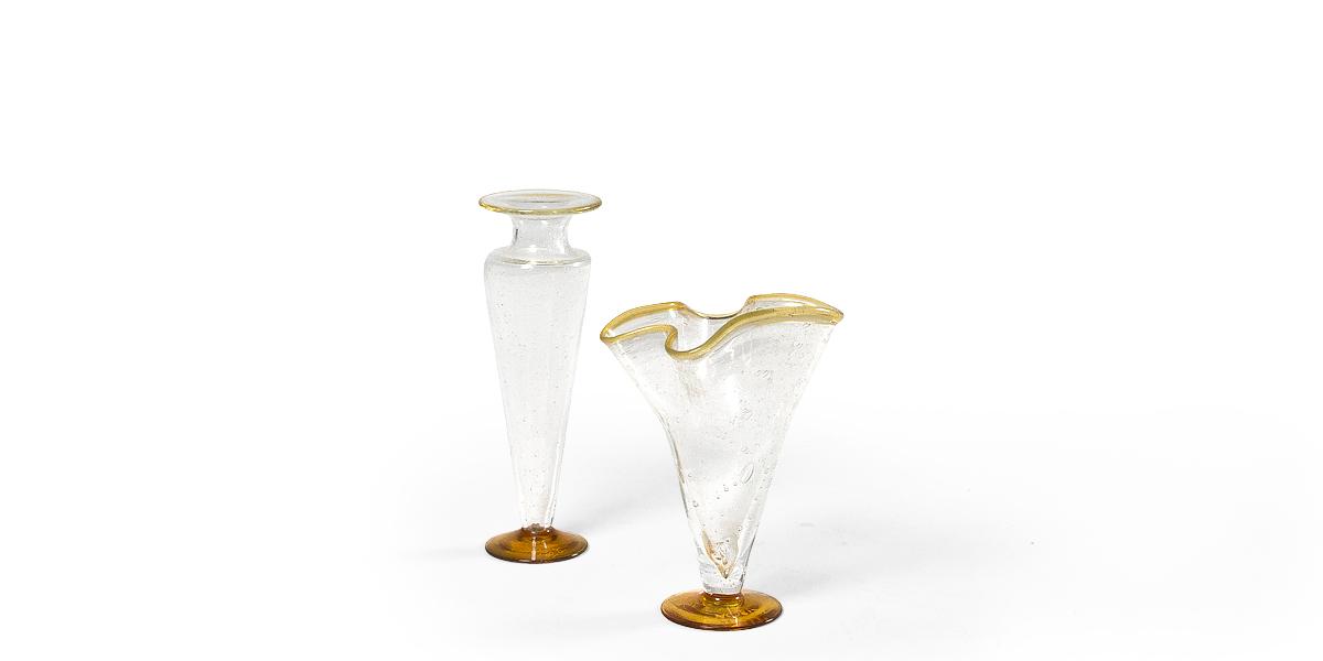 """11""""h - 12.75""""h Glass Vase Set"""