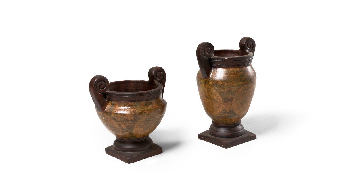 "15""h - 19""h Large Floor Vase Set"