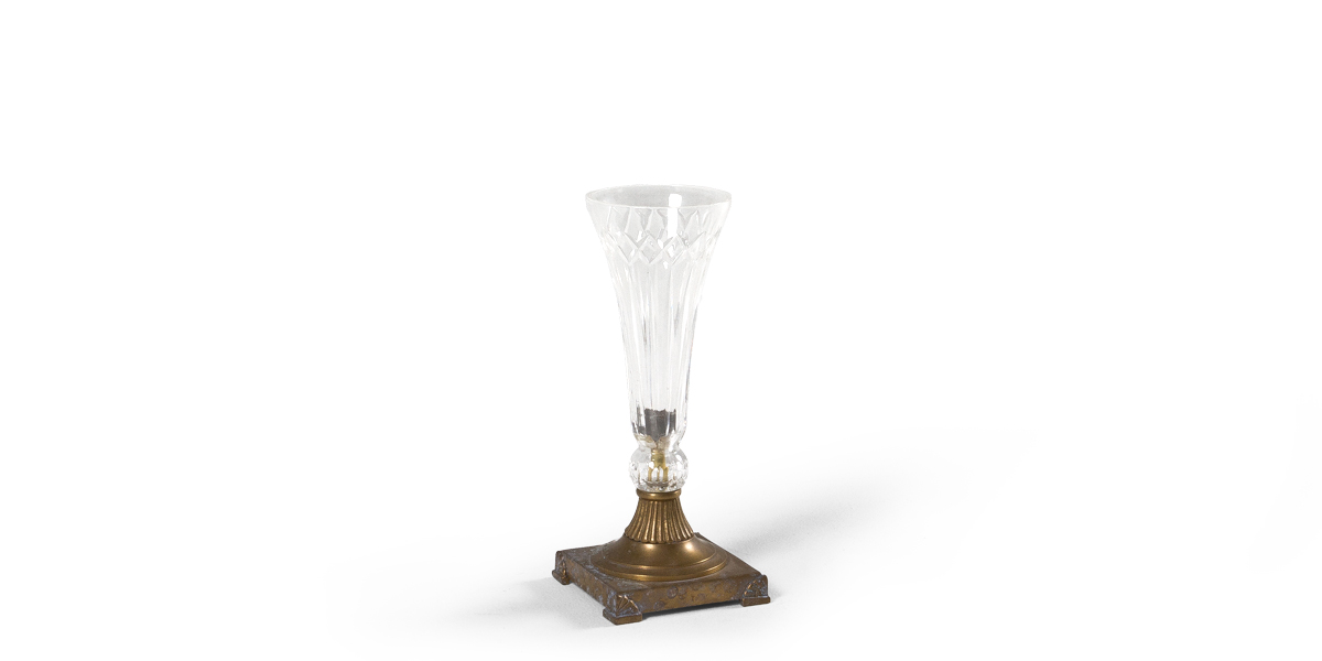 "11""h Glass Vase ACC004122"