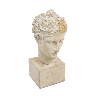 "19""h Plaster Bust ACC004466"