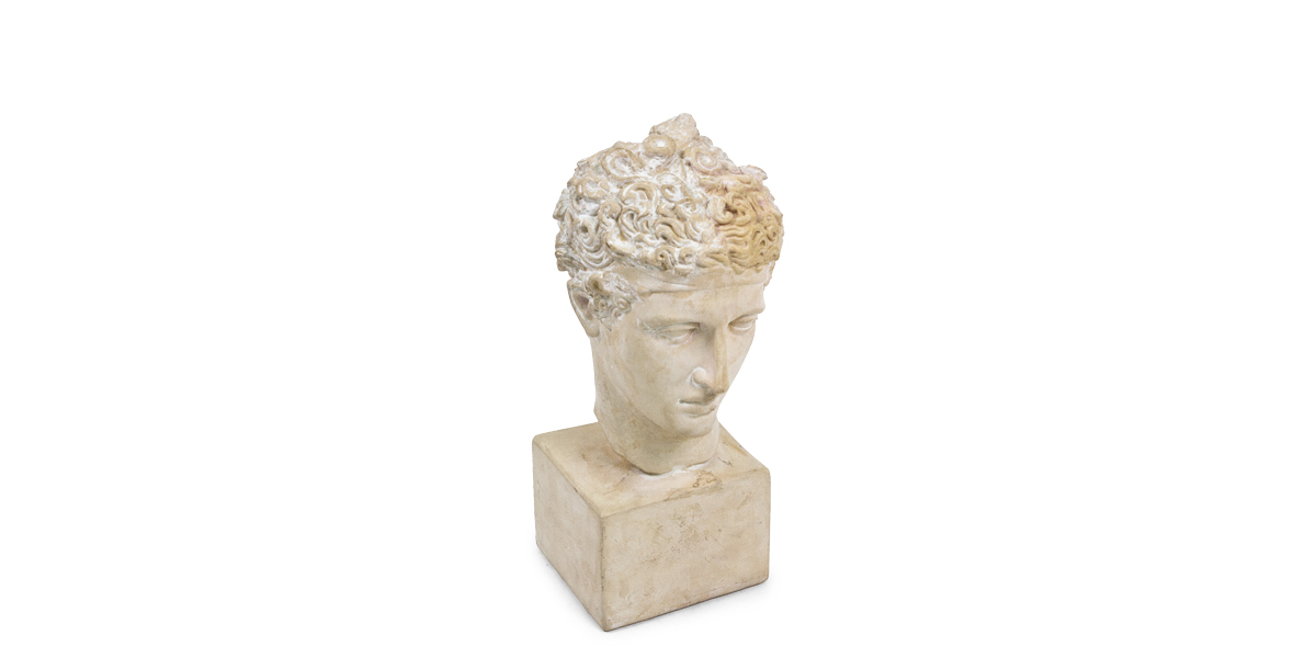 """19""""h Plaster Bust ACC004466"""