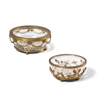 "7.25""dia - 8.25""dia Crystal Bowl Set"