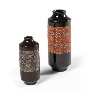 """12""""h - 16""""h Ceramic Vase Set"""